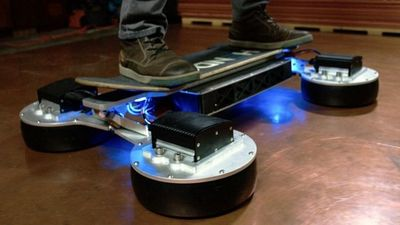 Season 01, Episode 10 Riding the New Hendo Hoverboard 2.0 Is Like Levitating the Gnar