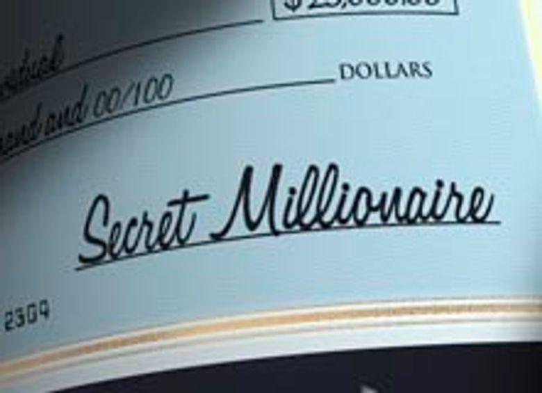 Secret Millionaire Poster