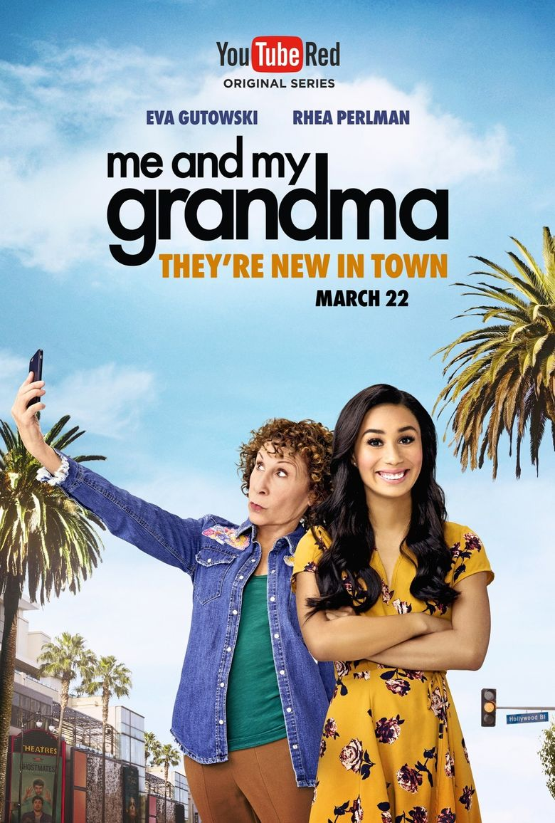Me and My Grandma Poster