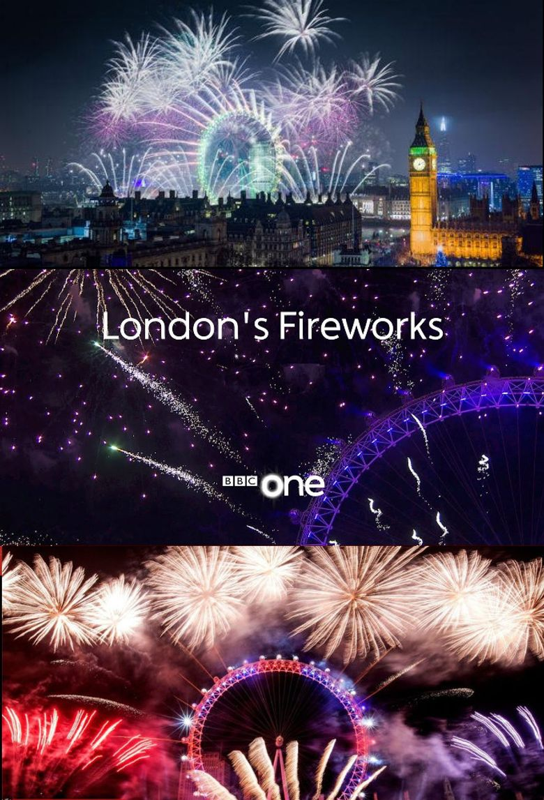 New Year's Eve Fireworks Poster