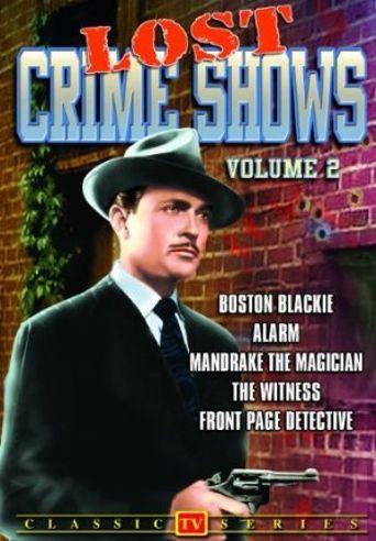 Boston Blackie Poster