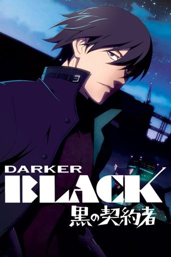 Darker than Black Poster