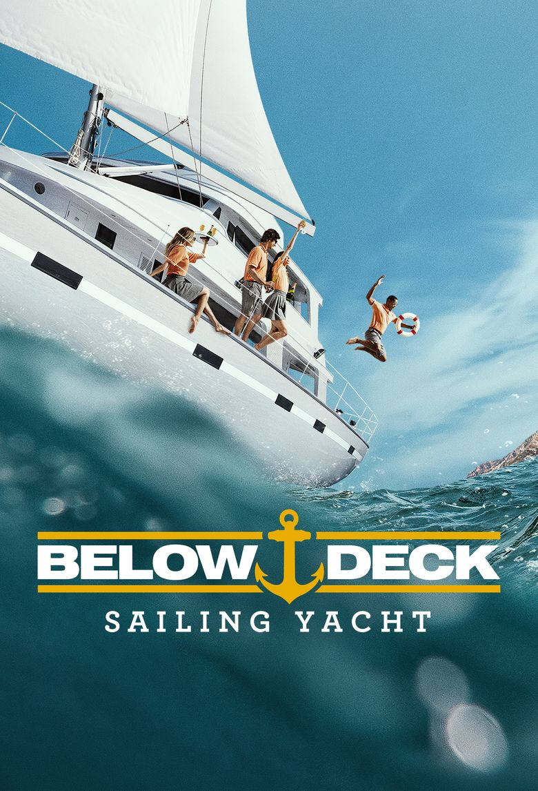 Below Deck Sailing Yacht Poster