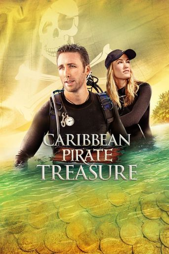 Caribbean Pirate Treasure Poster