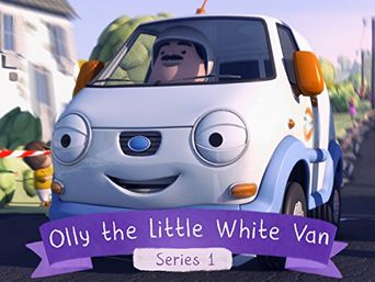 Olly The Little White Van Poster