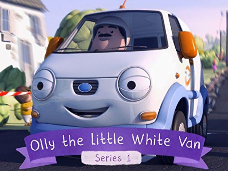Olly The Little White Van Poster