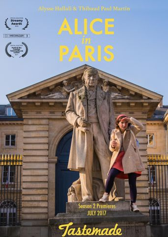 Alice in Paris Poster