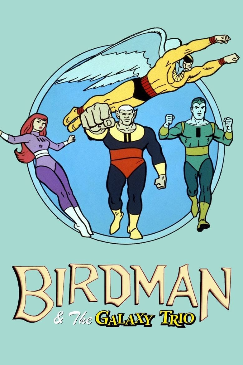 Birdman and the Galaxy Trio Poster
