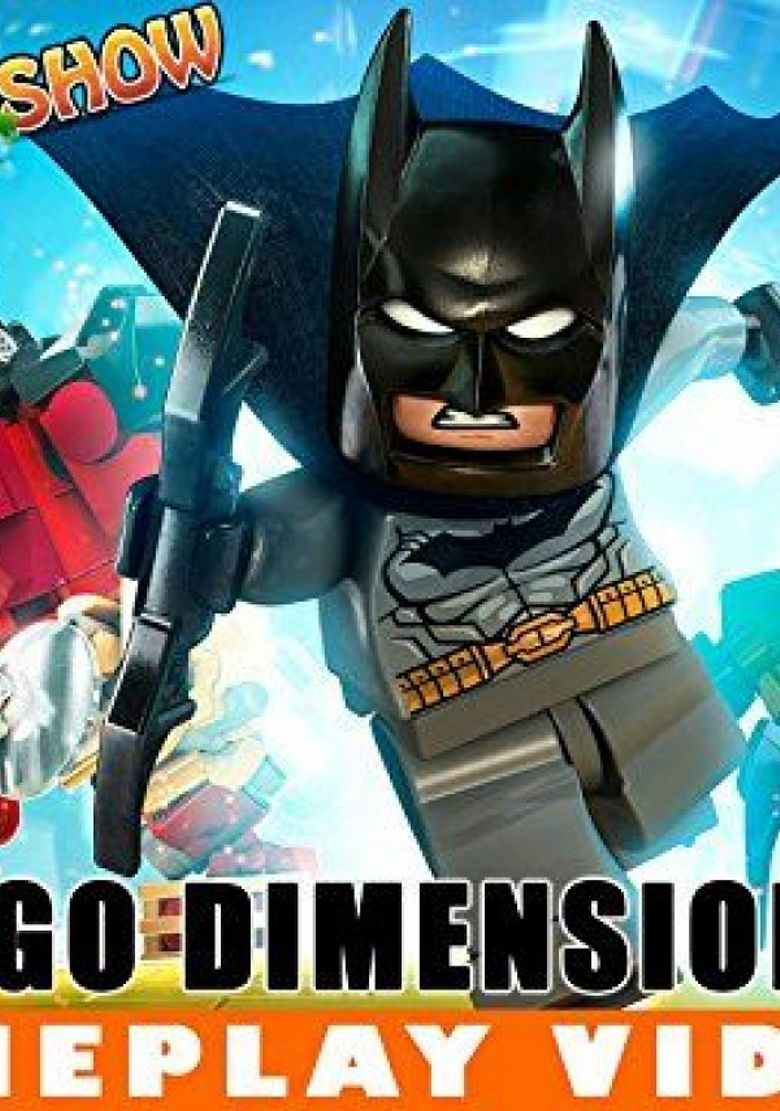 LEGO Dimensions Gameplay Poster