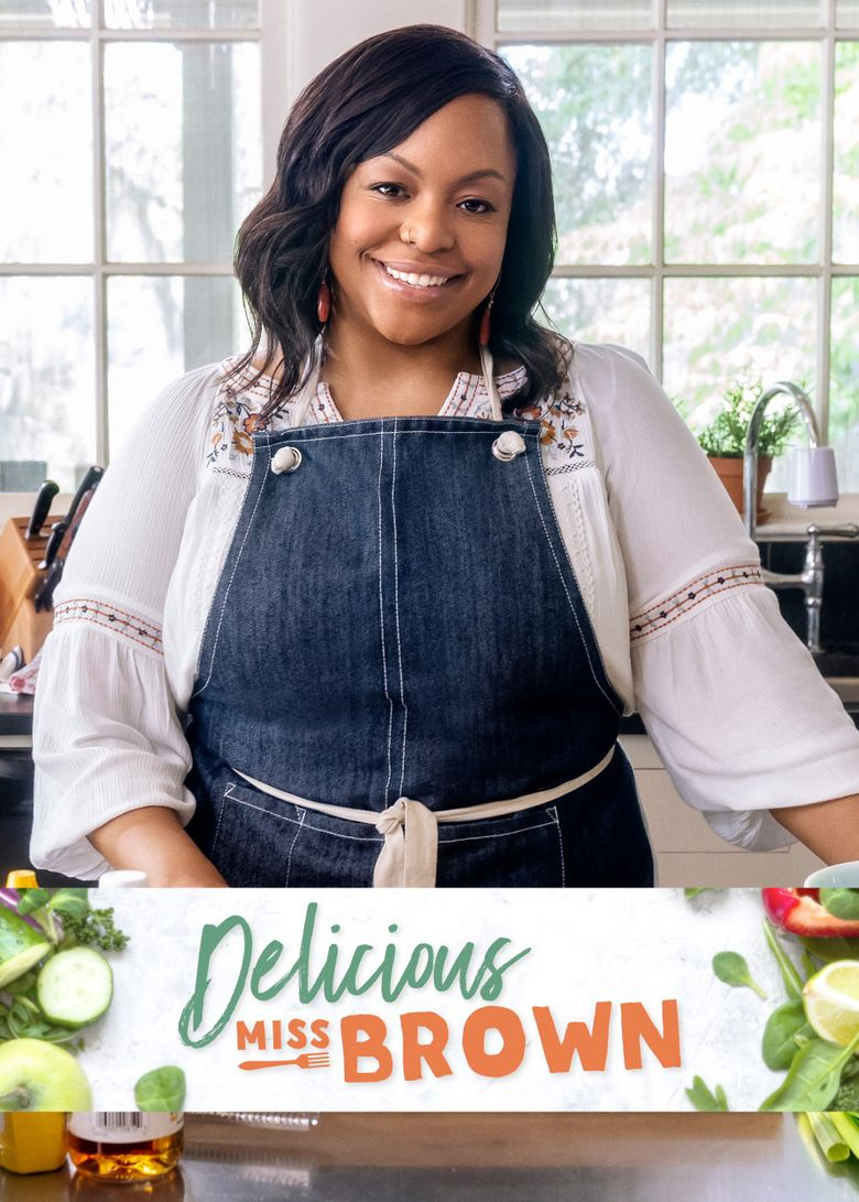 Delicious Miss Brown Poster