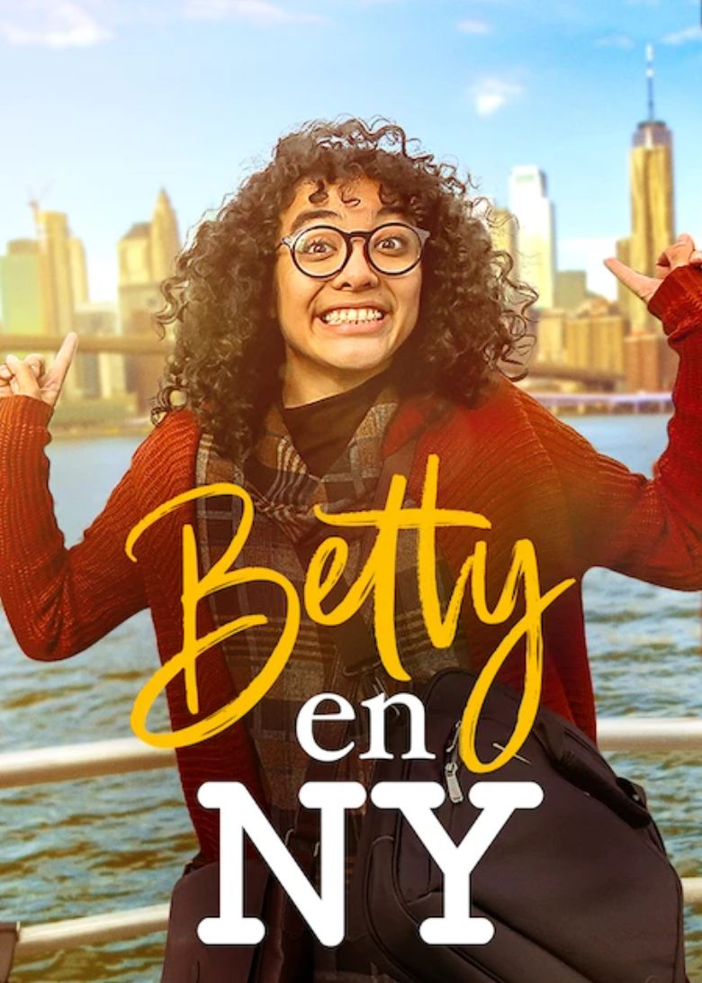 Betty en NY Poster