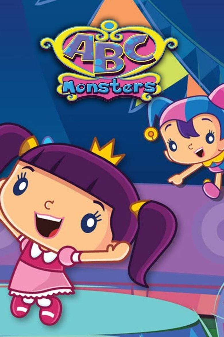 ABC Monsters Poster