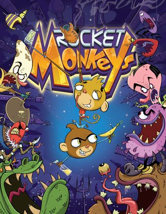 Rocket Monkeys Poster