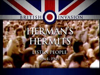 British Invasion: Herman's Hermits - Listen People Poster