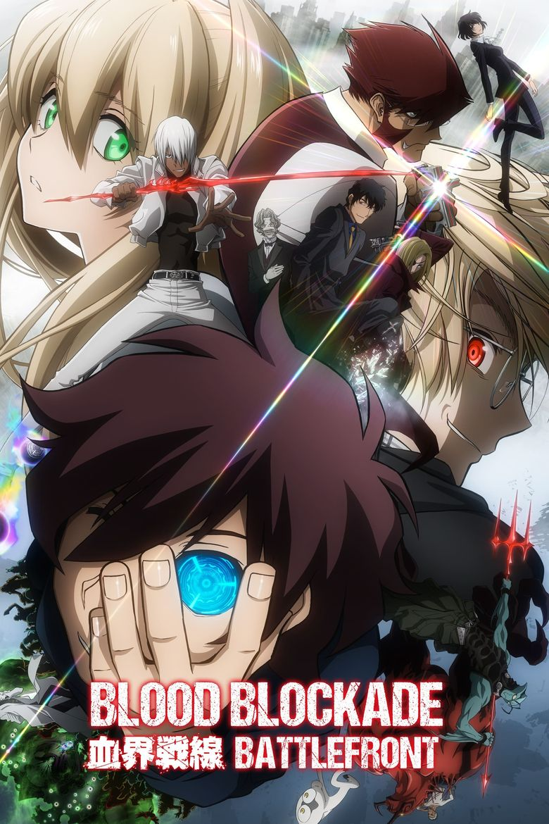 Blood Blockade Battlefront Poster