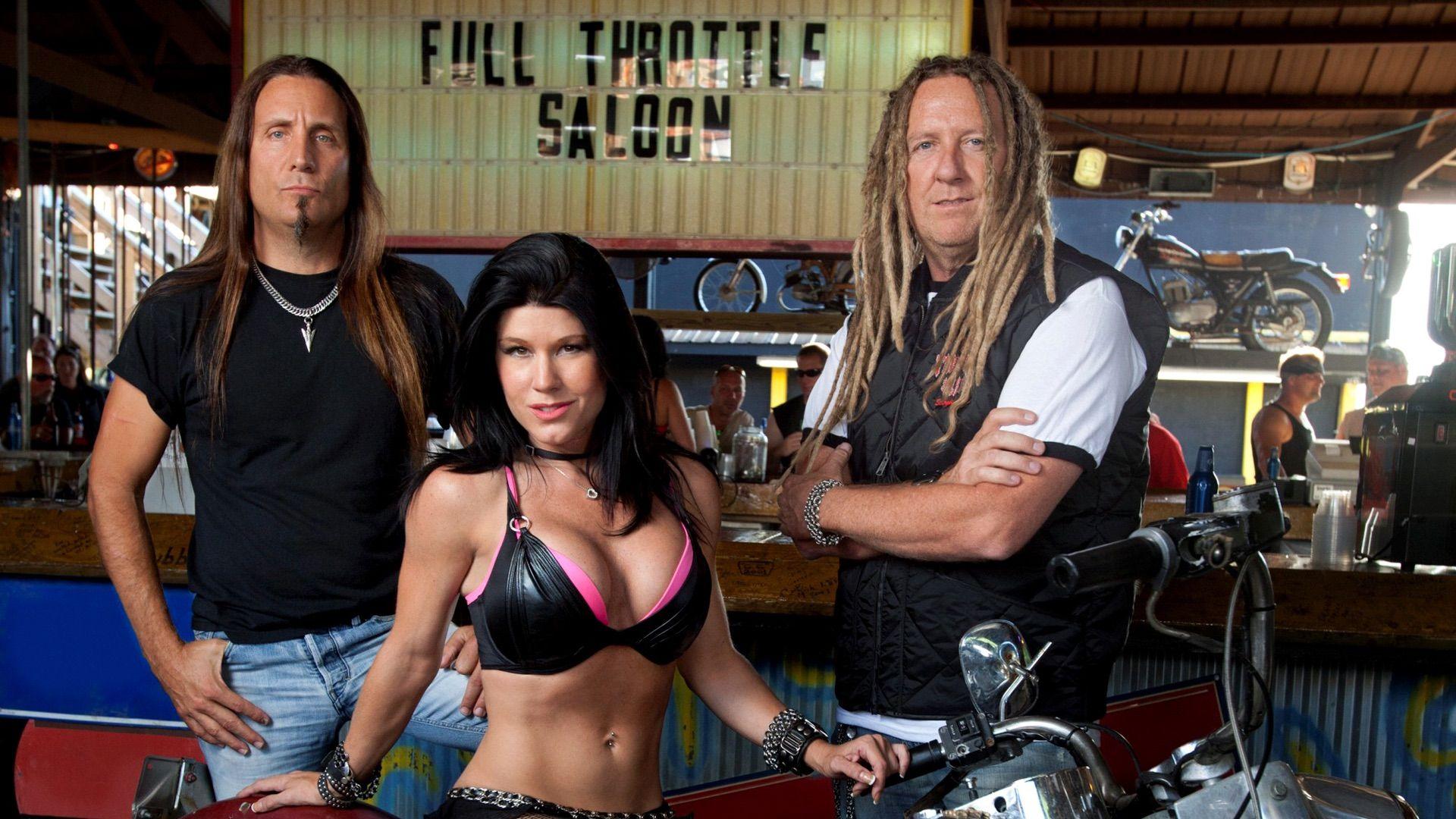 Full Throttle Saloon Bartenders 2012
