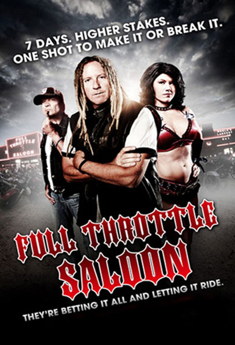 Full Throttle Saloon Poster
