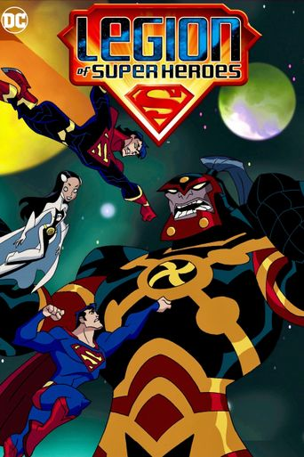Legion of Super Heroes Poster