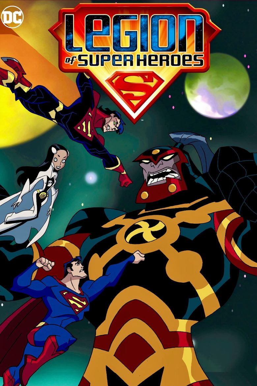 Legion of Super Heroes Poster