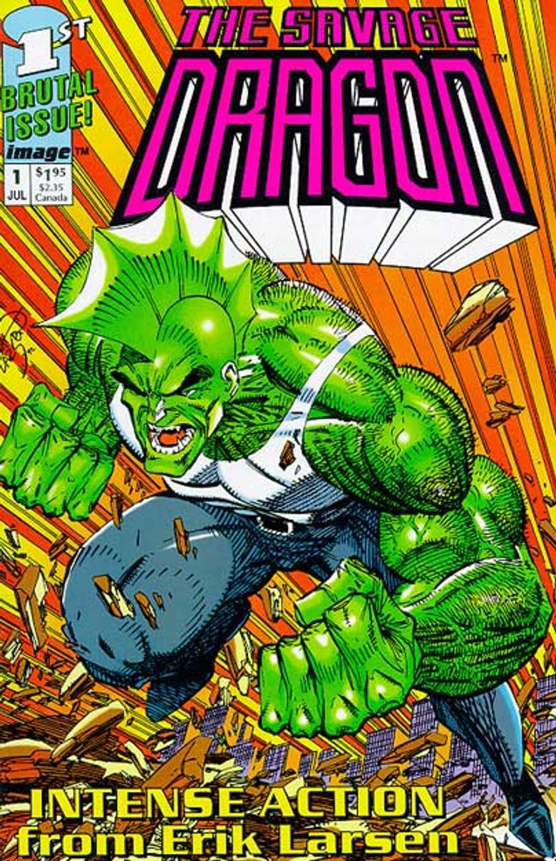The Savage Dragon Poster
