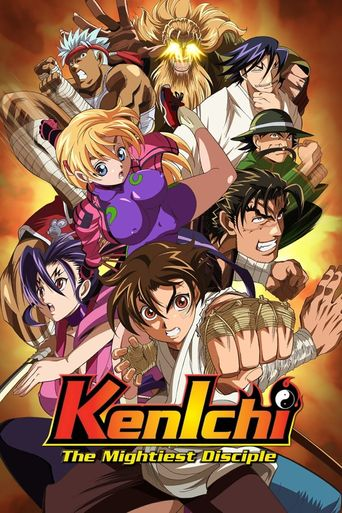 Kenichi The Mightiest Disciple Poster