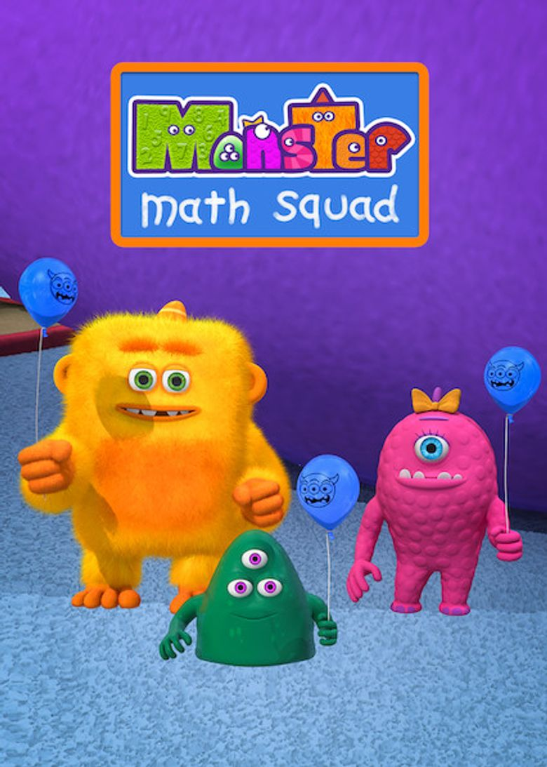 Monster Math Squad Poster