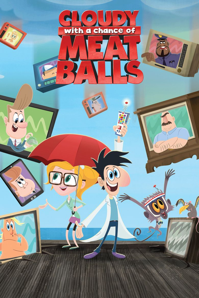 Cloudy with a Chance of Meatballs Poster
