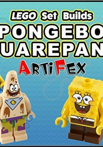 Lego Set Builds Spongebob Squarepants - Artifex Poster
