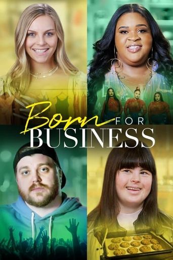 Born for Business Poster
