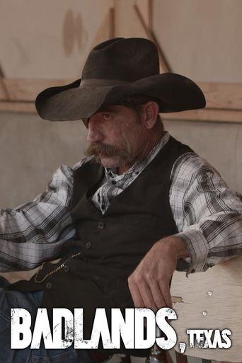 Badlands, Texas Poster
