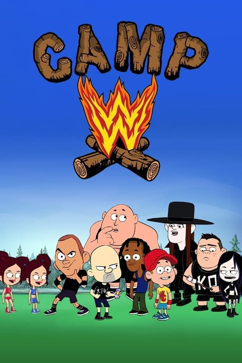 Camp WWE Poster