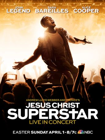 Jesus Christ Superstar Live Poster