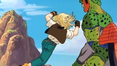 Season 04, Episode 02 The Battle Turns for the Worst... Cell Attacks Android 18!