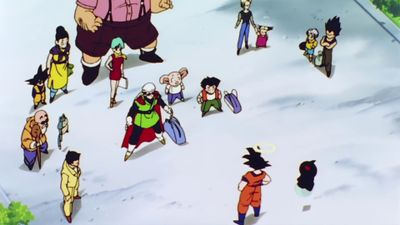 Season 05, Episode 07 The Dragon Team Fully Assembled! Goku Has Come Back!