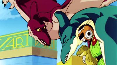 Season 05, Episode 04 A Monster is Taken Away! The Culprit is Great Saiyaman?