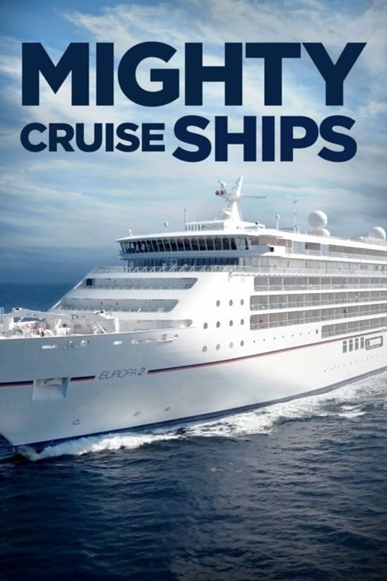 Mighty Cruise Ships Poster
