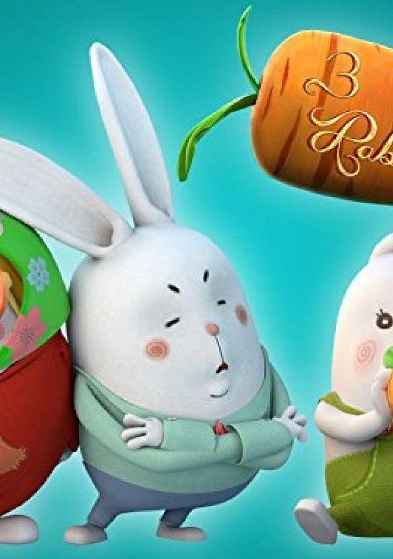 3 Rabbits Poster