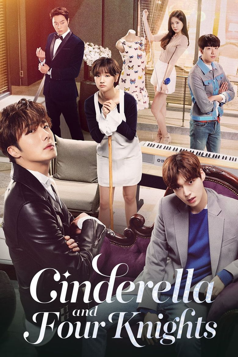 Cinderella and Four Knights Poster