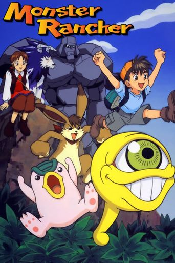 Monster Rancher Poster
