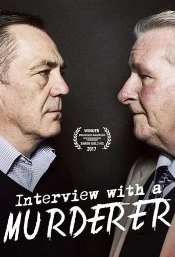 Interview With a Murderer Poster