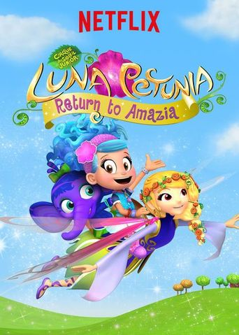Luna Petunia Return to Amazia Poster