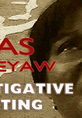 Anas Aremeyaw Anas Investigative Reporting Poster