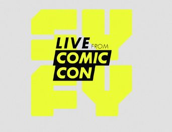 SYFY Live From Comic Con Poster