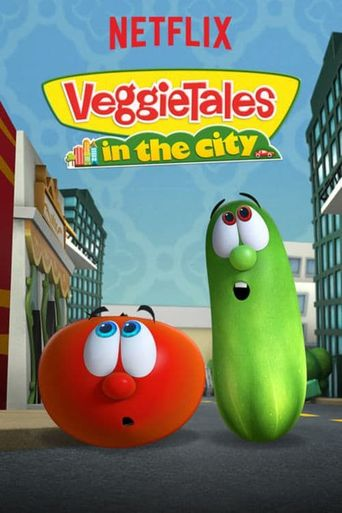 VeggieTales in the City Poster