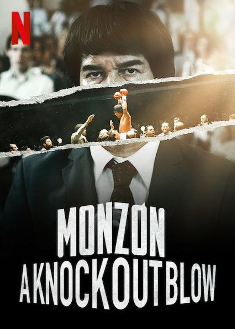 Monzón: A Knockout Blow Poster