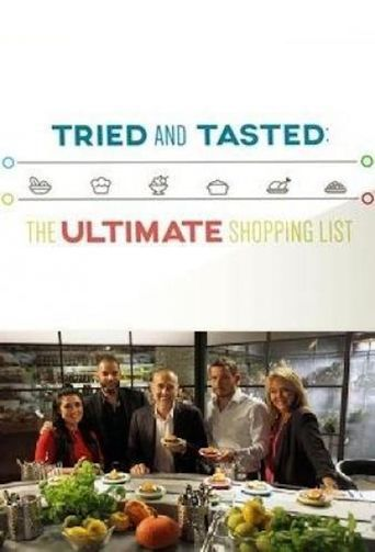 Tried and Tasted: The Ultimate Shopping List Poster