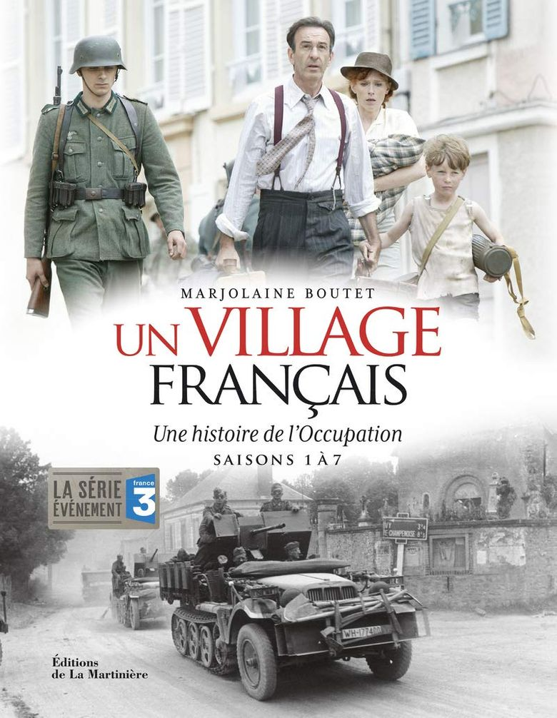 A French Village Poster