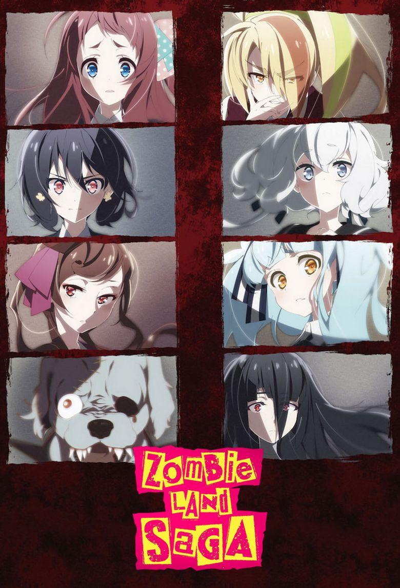 Zombie Land Saga Poster