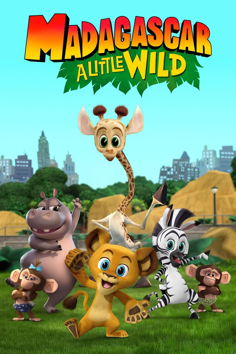 Madagascar: A Little Wild Poster