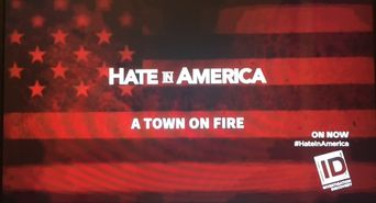 Hate in America Poster